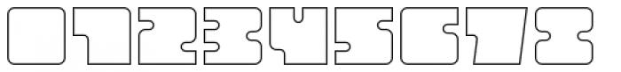 Oboe Outline Font OTHER CHARS