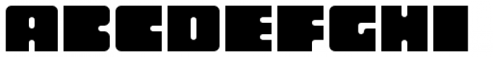 Oboe Solid Font UPPERCASE