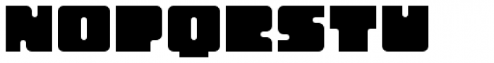 Oboe Solid Font LOWERCASE