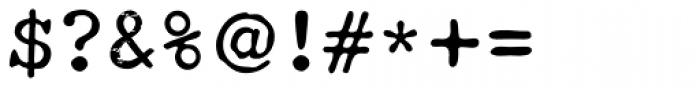 Obsolete Alternate Font OTHER CHARS