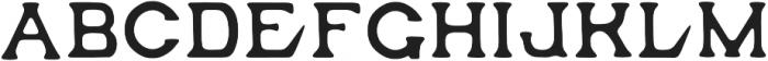 OCOTILLO Regular otf (400) Font UPPERCASE
