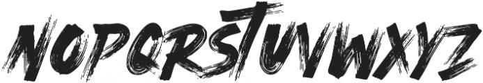 Ocean Rush otf (400) Font UPPERCASE