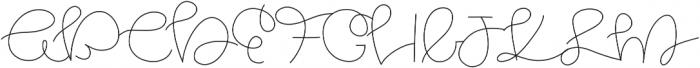 Ocean otf (400) Font UPPERCASE