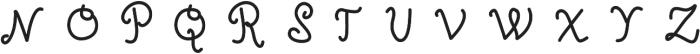 Oceania ttf (400) Font UPPERCASE