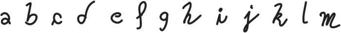 Oceania ttf (400) Font LOWERCASE