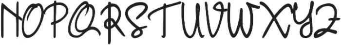 Oceanic otf (400) Font UPPERCASE