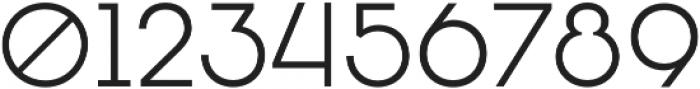 Oceanshore Light otf (300) Font OTHER CHARS