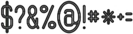Ocela Inline otf (400) Font OTHER CHARS