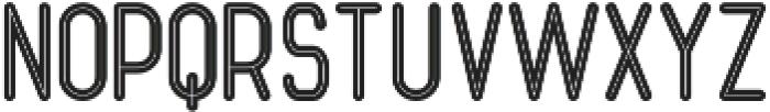 Ocela Inline otf (400) Font LOWERCASE