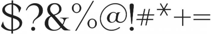 Ochre otf (400) Font OTHER CHARS
