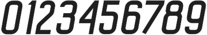Octanis Sans Italic otf (400) Font OTHER CHARS