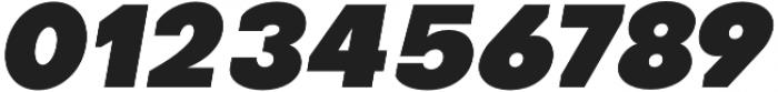 Octarine Black Oblique otf (900) Font OTHER CHARS