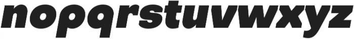 Octarine Black Oblique otf (900) Font LOWERCASE