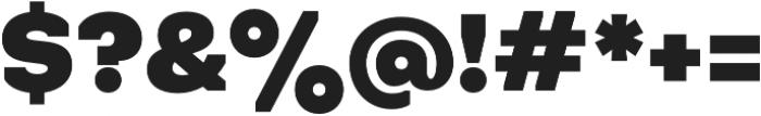Octarine Black otf (900) Font OTHER CHARS