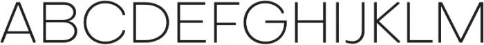 Octarine ExtraLight otf (200) Font UPPERCASE