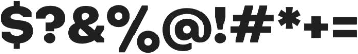 Octarine Heavy otf (800) Font OTHER CHARS