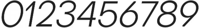 Octarine Light Oblique otf (300) Font OTHER CHARS
