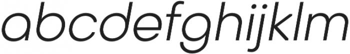 Octarine Light Oblique otf (300) Font LOWERCASE
