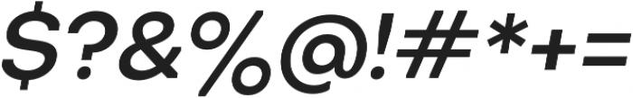 Octarine Medium Oblique otf (500) Font OTHER CHARS