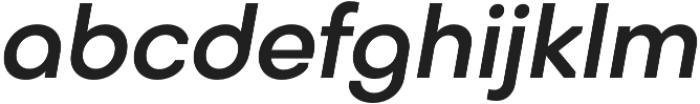 Octarine Medium Oblique otf (500) Font LOWERCASE
