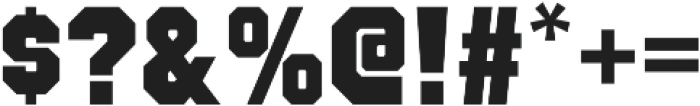 Octin College Black otf (900) Font OTHER CHARS