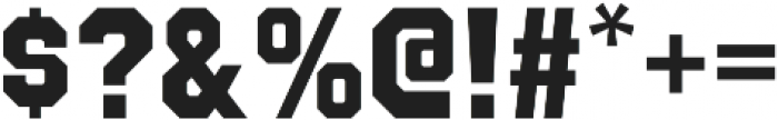 Octin College Heavy otf (800) Font OTHER CHARS