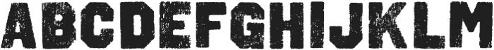 Octin Vintage A Black otf (900) Font LOWERCASE