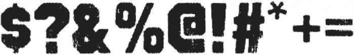 Octin Vintage B Black otf (900) Font OTHER CHARS