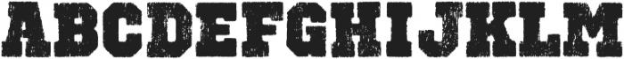 Octin Vintage B Black otf (900) Font UPPERCASE