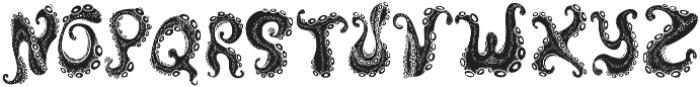 Octo Inverted otf (400) Font UPPERCASE