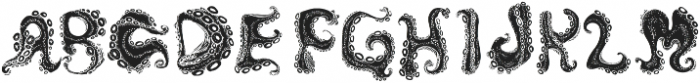 Octo Inverted otf (400) Font LOWERCASE