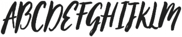 October Storm otf (400) Font UPPERCASE