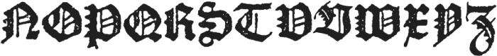 Octoberfest Regular otf (400) Font UPPERCASE