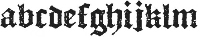 Octoberfest Regular otf (400) Font LOWERCASE