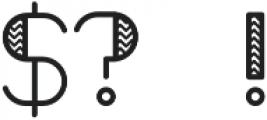 Octomorf Radical otf (400) Font OTHER CHARS