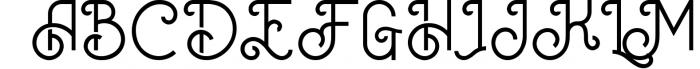 Oceania Display Font 1 Font UPPERCASE