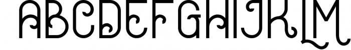 Oceania Display Font 1 Font LOWERCASE