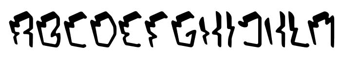 OCTOPUS ORBIT Font UPPERCASE