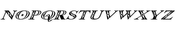 Occoluchi Italic Font UPPERCASE