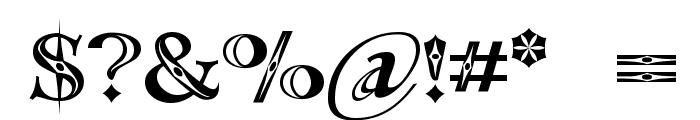 Occoluchi Minicaps Font OTHER CHARS