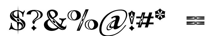 Occoluchi Font OTHER CHARS