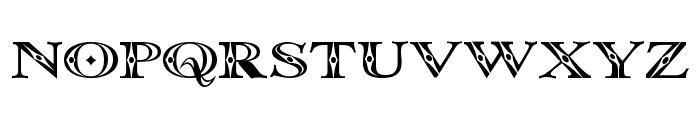 Occoluchi Font UPPERCASE