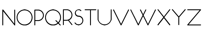 Occupied Font UPPERCASE
