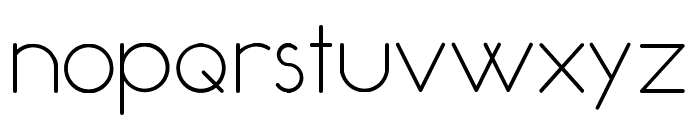 Occupied Font LOWERCASE
