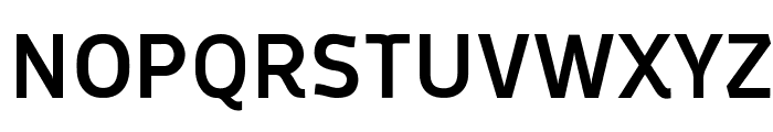 Oceania Display Medium Font UPPERCASE