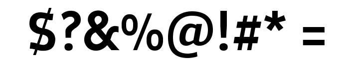 Oceania-Medium Font OTHER CHARS