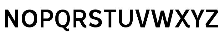 Oceania-Medium Font UPPERCASE