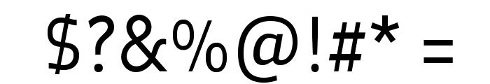 Oceania-Regular Font OTHER CHARS