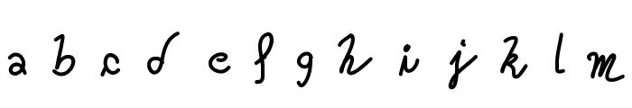 Oceania Font LOWERCASE
