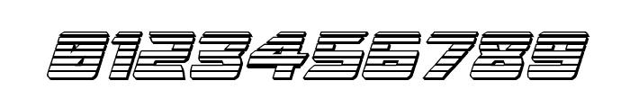 Oceanic Drift Chrome Italic Font OTHER CHARS